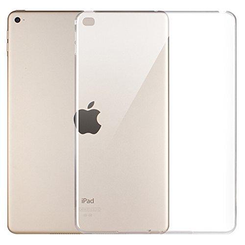 Copmob Smart Cover per iPad Mini 4 - Custodia Morbido Flessibile Silicone TPU,Posteriore della Protezione di Gomma, Trasparente Retro Copertura per Apple iPad Mini 4 Tablet,Chiaro