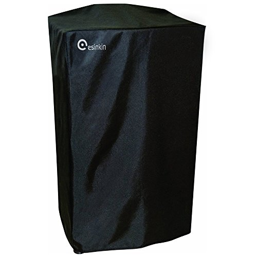Esinkin 40-Inch Waterproof Electric Smoker Cover for Masterbuilt 40 Inch Electric Smoker, Durable and Conveninet, Black