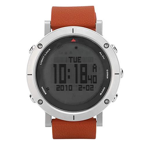 Deportes Reloj Digital Altímetro Barómetro Reloj de brújula Escalada Trekking Reloj Deportivo Impermeable