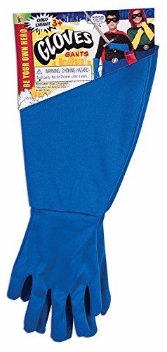 Forum Novelties Child Super Hero Gauntlet Gloves, Blue