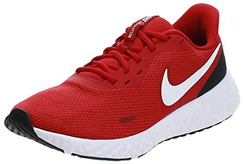 Nike Herren Revolution 5 Leichtathletikschuhe, Weiß (White/Wolf Grey/Pure Platinum), 45.5 EU