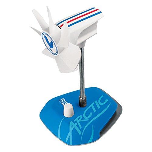 ARCTIC Breeze Country USB Tischventilator mit flexiblem Hals und einstellbarer Drehzahl, 800-1800 U/min, Frankreich