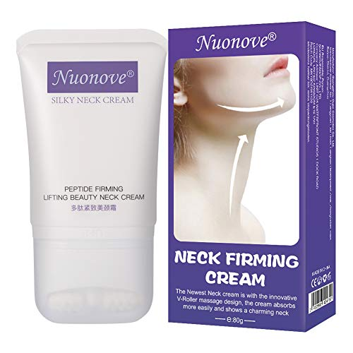 Neck Firming Cream, Neck Cream, Anti-Wrinkle Cream, Neck and Decollete Cream, Anti Aging Wrinkle Cream Moisturizer, Neck and Décolletage Firming, 80g