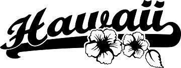 Autoaufkleber HAWAII BEACH TRIBAL Surfer Hibiskus Blumen H44-1x55cm, Decal Sticker für die Seiten oder Heckscheibe, Blumenranke, Ornament, Schnörkel fürs Auto, Car Dekore Decals, Autotattoos Tuning-Foliensticker in 32 Farben wählbar