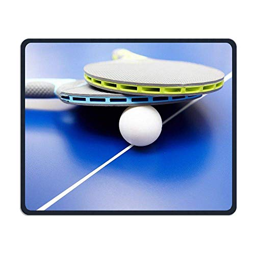 Tragbare Gaming Mouse Pad Bälle Tischtennis Komfortable rutschfeste Basis Langlebige genähte Kanten für Laptop-Computer