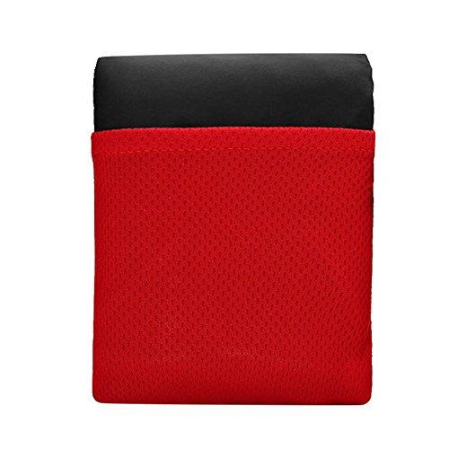 InnerSetting Tapis de Pique-Nique de Poche en Nylon Pliable Portable imperméable pour la Plage, Les Voyages, la randonnée, Les barbecues Taille S