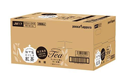 かごしま知覧紅茶無糖500ml×24本