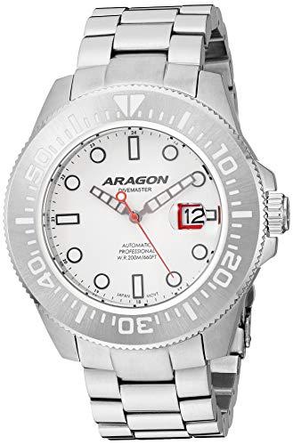 Aragon Automatic Watch (Model: A334WHT)
