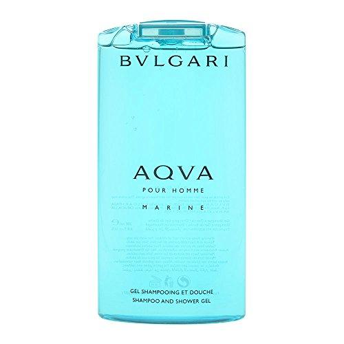Bvlgari Aqva Marine Pour Homme Homme/Men, Shampoo and Shower Gel, 1er Pack (1 x 200 g)