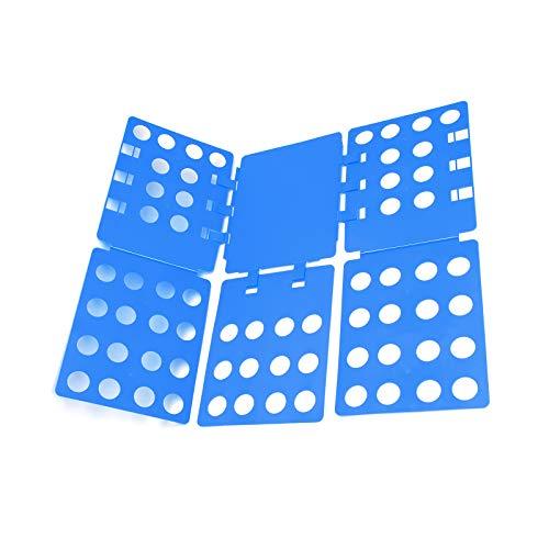 MorNon Carpeta Ropa Camiseta Tablero Plegable Flip Fold Organizador Lavandería Fácil Rápido...