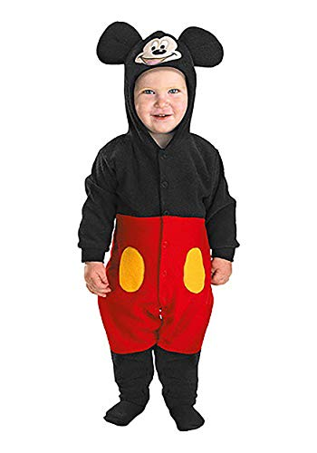 Toddler Mickey Mouse Costume Infant (12-18 Months) Red