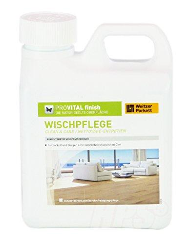 Parkettpflegemittel Weitzer Parkett PROVITAL Wischpflege für geöltes Parkett