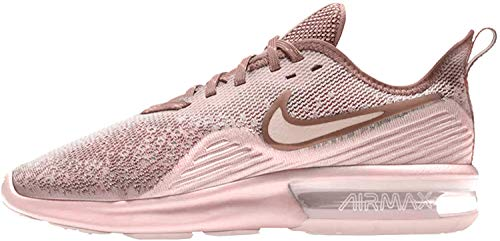 Nike WMNS Air Max Sequent 4 Womens Ao4486-600 , Particle Rose/Particle Rose, 10