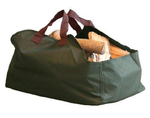 Frostfire - Sacca per legna, colore: verde e marrone
