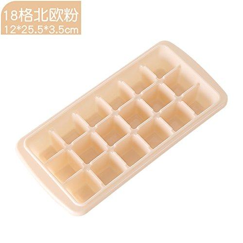 XXAICW Ice Box Diamant Cube Eis Eisbox gefrorene Eis Schimmel 60 96 Haushalt-Kühlschrank und ein Eis am Stiel-Schleifer 18 Pulver