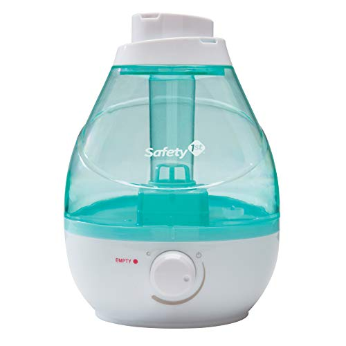Safety 1st 360 Degree Cool Mist Ultrasonic Humidifier, Seafoam, One Size