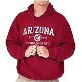 Arizona Est 1912 Grand Canyon State Hoodie Sweatshirt Women Men Cardinal Red