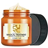 PURC Magical Hair Treatment Mask, Advanced Molecular Hair Roots Treatment Professional Hair Conditioner, 5 Seconds to Restore Soft, Deep Conditioner Suitable for Dry & Damaged Hair