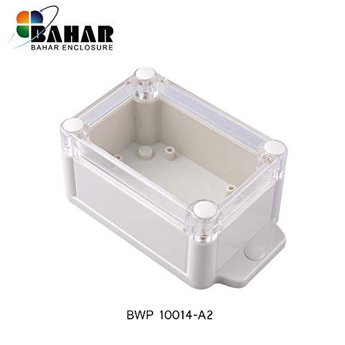 Bahar Enclosure Junction Box Anschlussdose Wasserdichte Gehäuse IP68 Transparent Deckel Sicht Deckel Waterproof Kunststoffgehäuse Plastikgehäuse Elektronik BWP Serie Verschiedene Größe