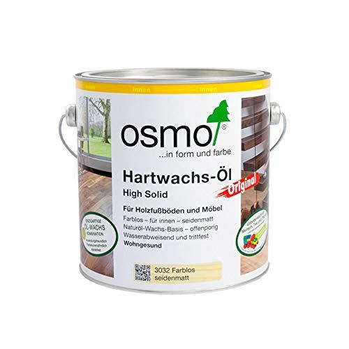 Osmo Hartwachs-Öl Original Farblos Seidenmatt 2,50 l - 10300002