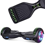 UNI-SUN Chrome Hoverboard for Kids Two-Wheel Self Balancing Bluetooth Hoverboard...