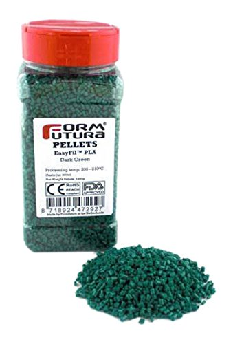 FormFutura pelepla-dagr-0400stampante 3d Pellet, EasyFil PLA, Verde scuro