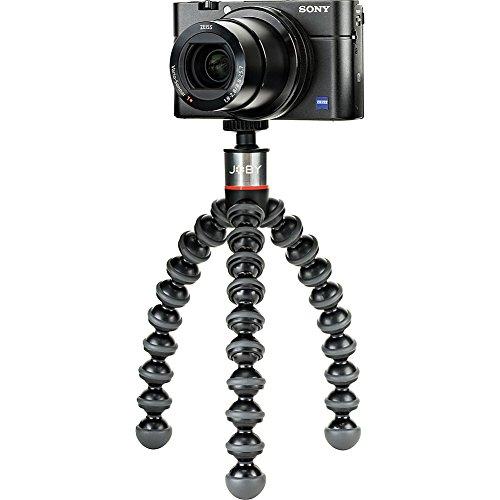 JOBY GorillaPod 500 - Trípode Mini Flexible con Rótula Integrada para Cámaras 360 y Compactas, Peso hasta 500 g, JB01502-BWW