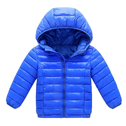 Xingsiyue Chaqueta de Invierno Plumón con Capucha para Unisex Ligero Compresible Calentito Impermeable Abrigo