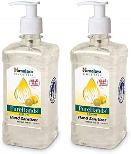 Himalaya Pure Hands Hand Sanitizer – 500 ml (Pack of 2)