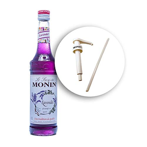 Monin Lavendel 1*0,7 Liter inkl. einer Monin Dosierpumpe