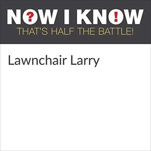 Diseño de la portada del título Lawnchair Larry