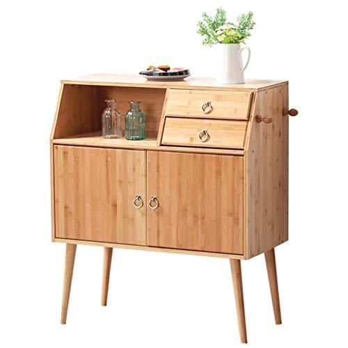 Aparador de madera maciza, gabinete de cocina minimalista moderno, gabinete de almacenamiento, gabinete de tazón simple, sala de estar, gabinete de té, gabinete de vino, armario de almacenamiento, 70x