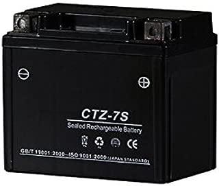 『バイクパーツセンター』 シールド式 バイクバッテリー 7S  【TZ7  YTZ-7S FTZ-7S 互換】