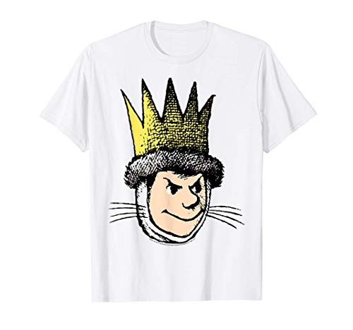 Where The Wild Things Are Max Big Face T-Shirt