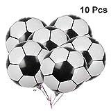 LUOEM Balón de Papel de Aluminio de fútbol Copa del Mundo Partido Decoraitons Balón de Papel de...