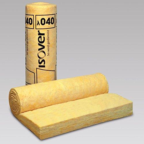 ISOVER Integra ZKF 1-035 Zwischensparren-Klemmfilz | Dicke: 220 mm (2,8 m lang) | Rolle 1200 mm breit | Grundpreis/ Qm: 8,54 EUR