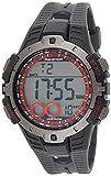 Timex Marathon T5K423 - Reloj Digital de Cuarzo para Hombres, Correa de Goma, Sumergible a 50...