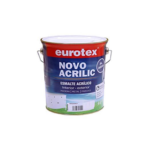 Esmalte Acrílico Ext-Int Blanco Satinado 4L