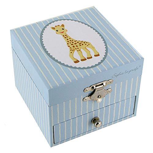 Lutèce Créations - Caja musical de madera/caja musical para joyas trousselier con Sophie la jirafa (Ref: 20-162) – Love Story – Una historia de amor (Francis Lai)