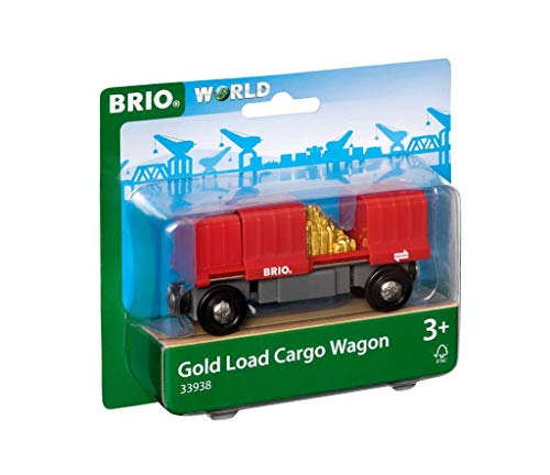 Brio World - 33938 - Wagon Cargo Rouge