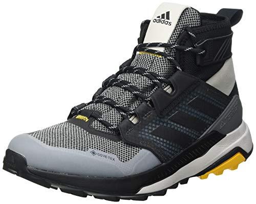 adidas Terrex Trailmaker Mid GTX, Zapatillas de Hiking Hombre, GRIMET/NEGBÁS/OROACT, 41 1/3 EU