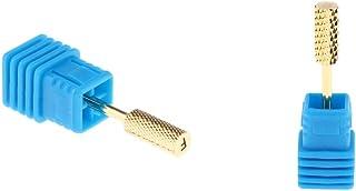 gazechimp ネイルケア ネイルドリルビット 研磨ヘッド 爪やすり 2個