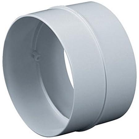 /Ø 150 mm Flexrohrverbinder mit R/ückschlagklappe Edelstahl L/üftung