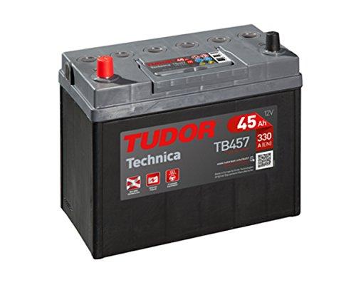 Tudor Exide Technica 45Ah, 12V Dimensiones: 237 x 127 x 227. Batería coche. 15% Más potente que las standard.