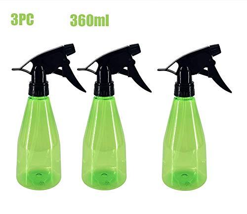 Pulvériser bouteille, pulvérisateur de 500 ml en matière plastique, 3 modes (par pulvérisation et de la rosée et fermer) la bouteille rechargeable de pulvérisation pour le nettoyage vide,3 packs
