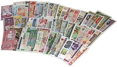 World Banknotes Collection - 25 Pieces of 25 Different World Countries - Foreign, Currency, Uncirculated