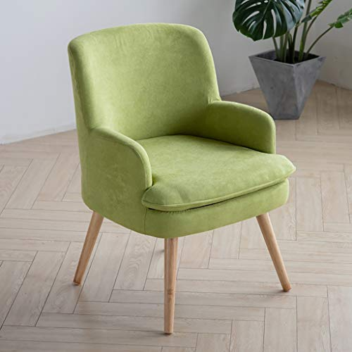 Sofa Lazy Couch Schlafsofa Moderner Minimalist Kleine Wohnung Lounge Chair Lazy Couch Balkon Stuhl Lazy Couch Set Schlafzimmer Kleines Netter Zimmer Lazy Couch (mehr Farben) (Color : Green)