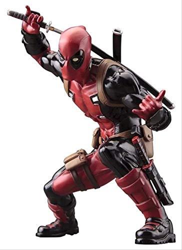 QWYU Kotobukiya X-men Deadpool Pvc Figura de acción Juguetes