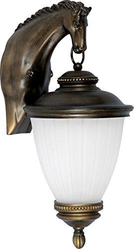 Lampada da parete classica 1 x 60 W/E27 HORSE Nowodvorski{4900}