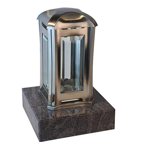 designgrab AEL5AGB1Orio Grablampe Venezia aus Edelstahl, Silber, 13 x 13 x 24 cm